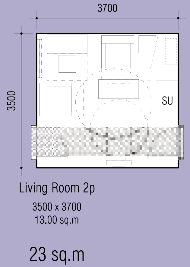 Dimensions Of A Living Room
