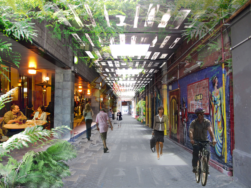 Image gallery laneways for Urban design architects melbourne