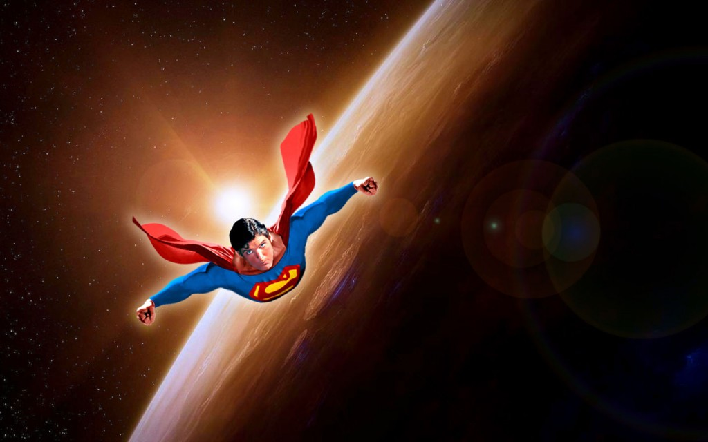 superman-flying-space