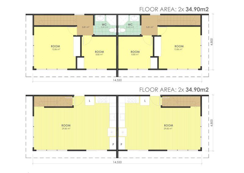 matrix-two-storey-duplex-floorplan